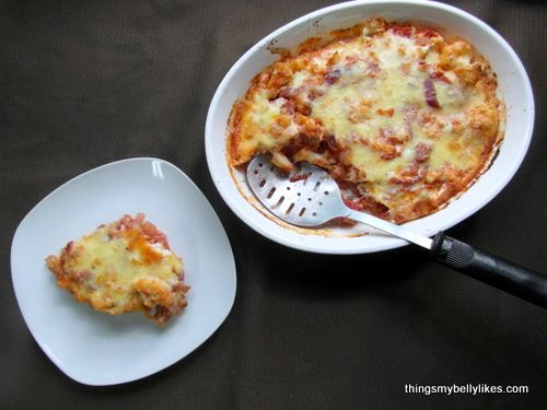 Roasted Cauliflower Gratin with Tomatoes & Parmesan