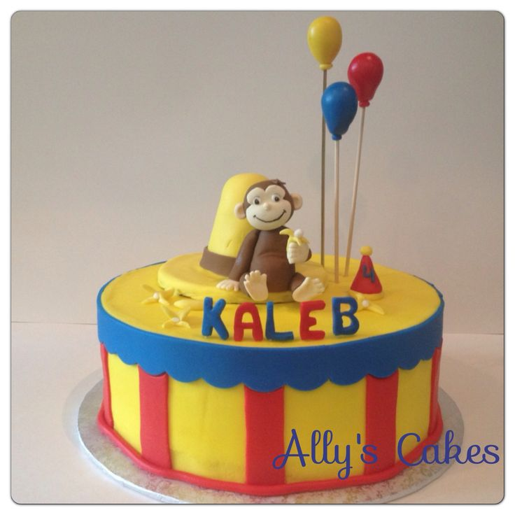 curious george birthday cake 1000 images about primary colors curious george on 3236