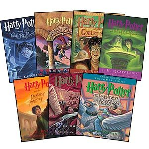 Harry Potter brings out the nerd in me.  I read them all the time and always find something new in them.  Glad I get to share them with my son through the movies as well.