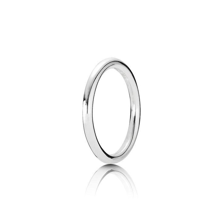 PANDORA Rings - Sterling Silver & Gold | PANDORA