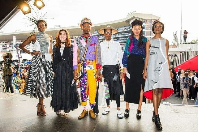 Dut Durban University Of Technology Students Showcase Their Fashion Design Skill At The Vodacom Durban July Handicap Student Fashion Fashion Fashion Design