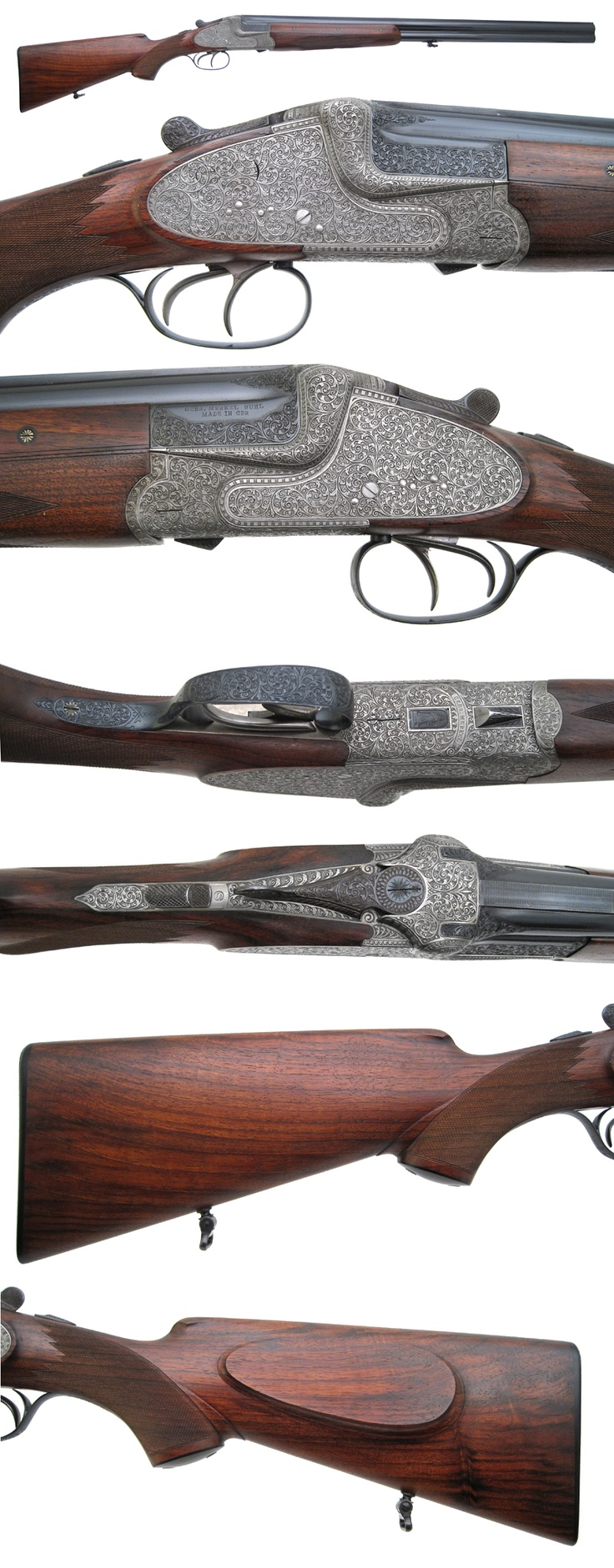 Griffin & Howe - Gun Details Page  The venerable Merkel 303...very fine specimen!