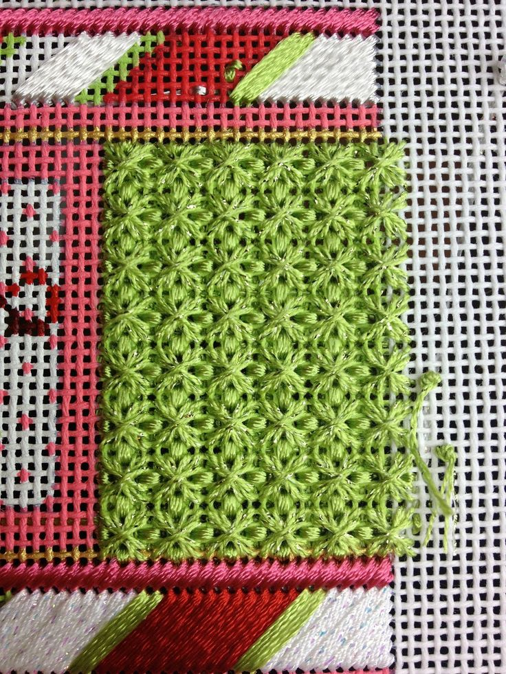 Melissa Shirley cracker    I finished this stitch on the side using Petite Silk Lame and Neon Rays.  I love it!       Joseph from the Hear...