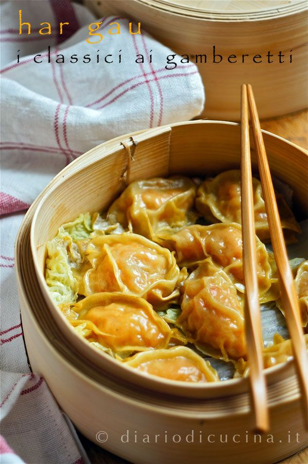 Ravioli cinesi al vapore - Diario di Cucina. Expat-Mamma in Francia