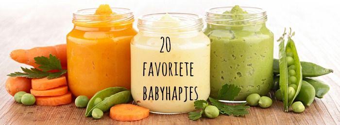 20 FAVORIETE BABYHAPJES