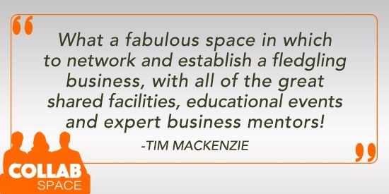 Thanks for the feedback, Tim! We are pleased to be able to give owners of startups and established small businesses a place to work in a professional environment, amongst a community of collaborative, growth-oriented peers.