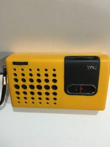 Vintage #topaz pocket #radio  #am(mw)- band from the 1960s,  View more on the LINK: http://www.zeppy.io/product/gb/2/222399159943/
