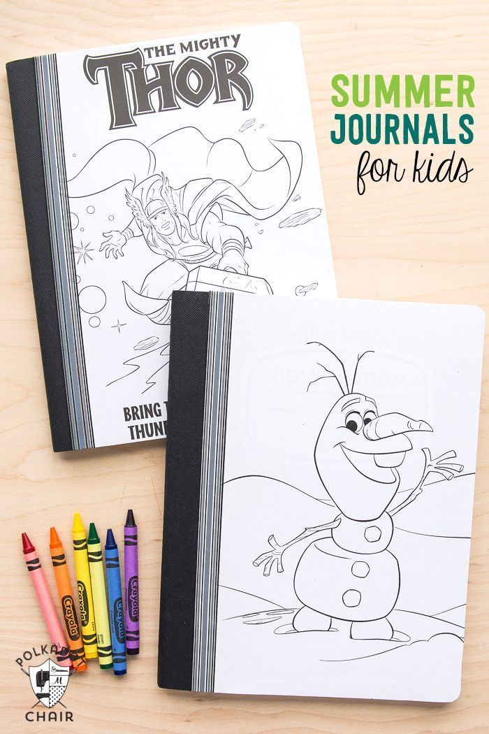 Cute ideas for summer journals for kids. Would be great for road trips!  Love this!