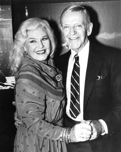 Ginger Rogers and Fred Astaire...I was sitting in a French Qt. restaurant back in 1980 or 81 when Ginger came in with a much younger escort. It was later said she was in New Orleans for watercolor lessons, but I suspect she was having cosmetic skin treatment. Bad timing because they had a TV tribute to Fred and she missed it.