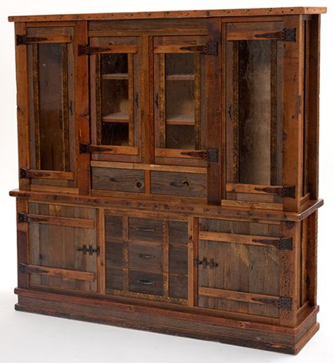 Rustic Kitchen Hutch: Free Woodworking Plans For Corner China Hutch