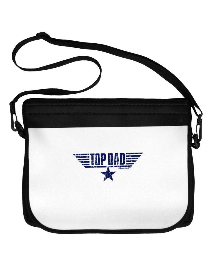 Top Dad Father's Day Neoprene Laptop Shoulder Bag