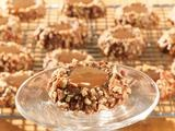 Picture of Chocolate Caramel Thumbprint Cookies Recipe