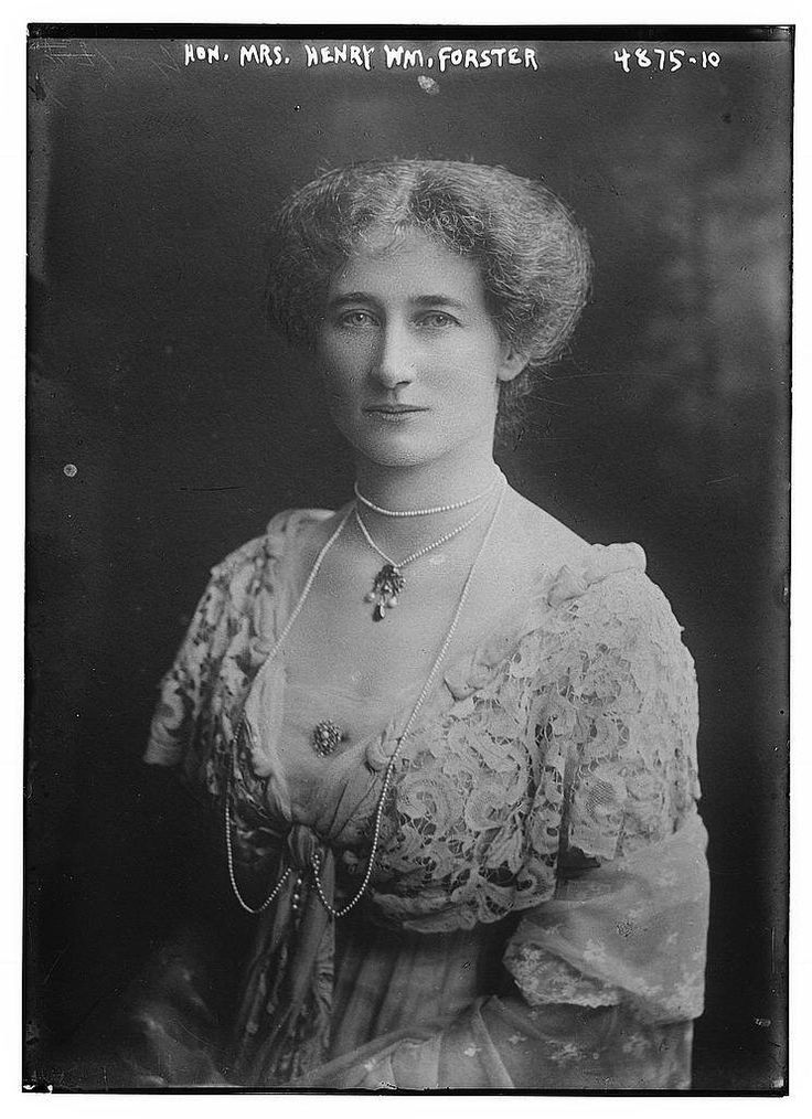 https://flic.kr/p/Qae3ME | Hon. Mrs. Henry Wm. Forster (LOC) | Bain News Service,, publisher.  Hon. Mrs. Henry Wm. Forster  [between ca. 1915 and ca. 1920]  1 negative : glass ; 5 x 7 in. or smaller.  Notes:  Title from data provided by the Bain News Service on the negative. Forms part of: George Grantham Bain Collection (Library of Congress).  Format:  Glass negatives.  Rights Info:  No known restrictions on publication.  Repository:  Library of Congress, Prints and Photographs Division…