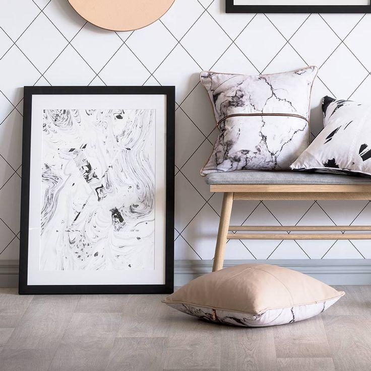 Marble X Wall Art | The Block Shop