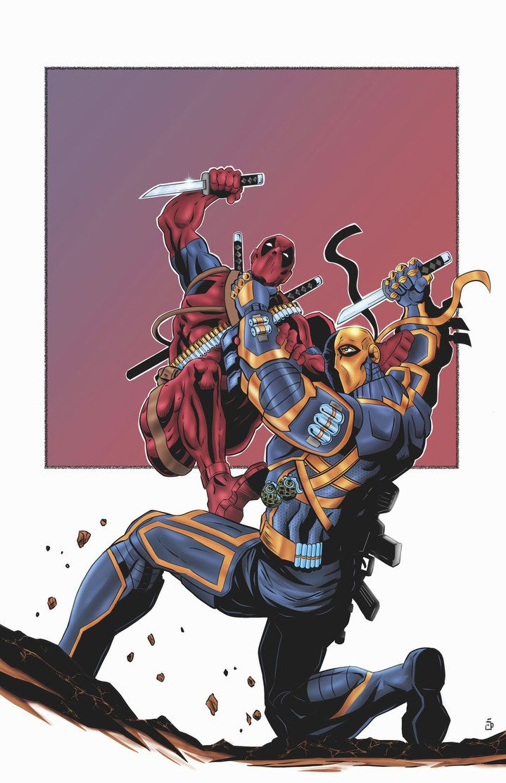 Deadpool vs. Deathstroke - James O'Riley