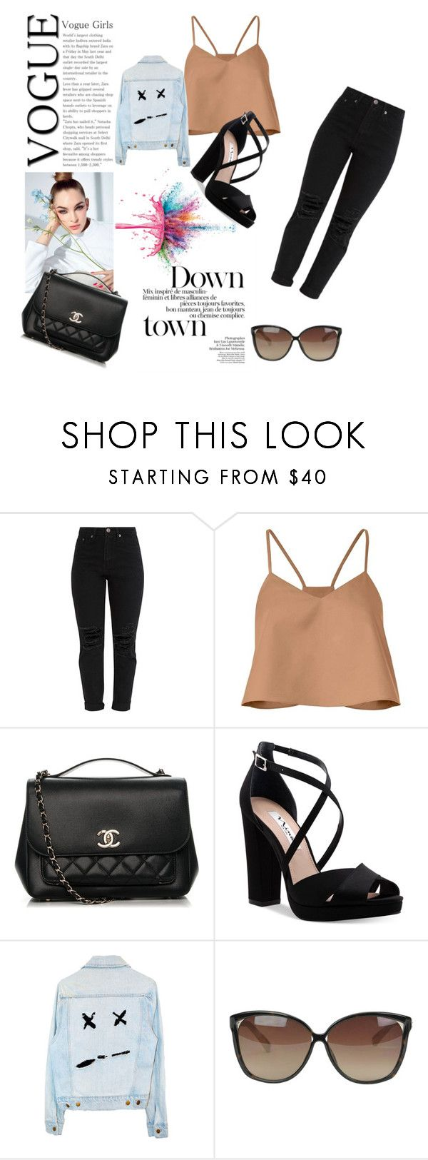 """""""Down town"""" by sarahbear231 on Polyvore featuring TIBI, Chanel, Nina, Linda Farrow and Givenchy"""