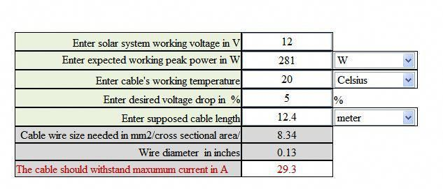 Free Solar Cable Size Calculator Solar Panel Secrets Exposed Solar Panel System Solar Energy System Solar Technology