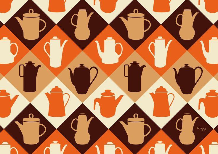 #47 Retro Coffee Pots