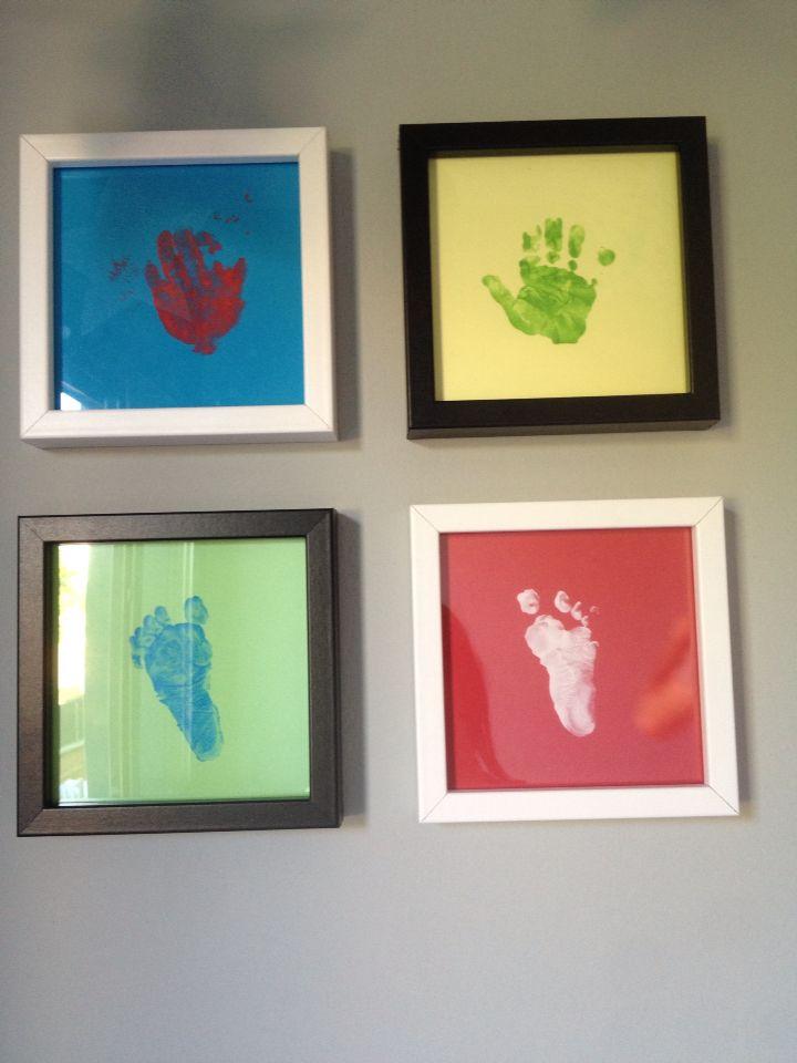 Ideas de cuadros para pintar con las manos los pies y las - Cuadros de pies ...