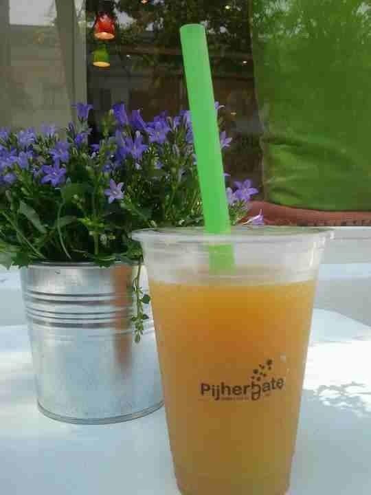 Jaśmin   pomarańcza - best Bubble Tea
