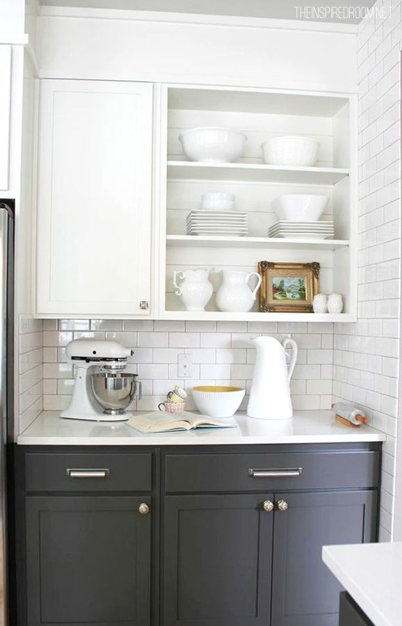 214 best organize the kitchen images on pinterest kitchen storage 5 ways to try open shelving in your kitchen solutioingenieria Images