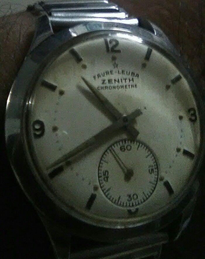 Favre Leuba Zenith Cal 135 Wrist Watch