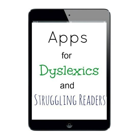Apps for Dyslexics and Struggling Readers