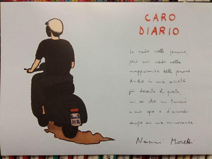 'Caro Diario' di Nanni Moretti Stampa digitale in tiratura limitata formato 50x70