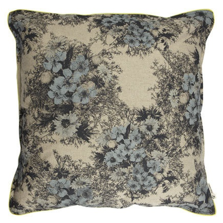 Pony Rider - Wild Floral Floor Cushion Cover
