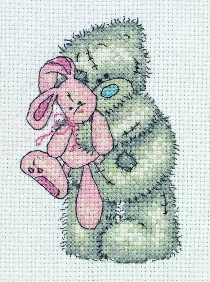 Past Impressions are currently offering 10% off of all our Tatty Teddy Cross Stitch kits!  Just use the code TTDIS10 at checkout to claim your discount!