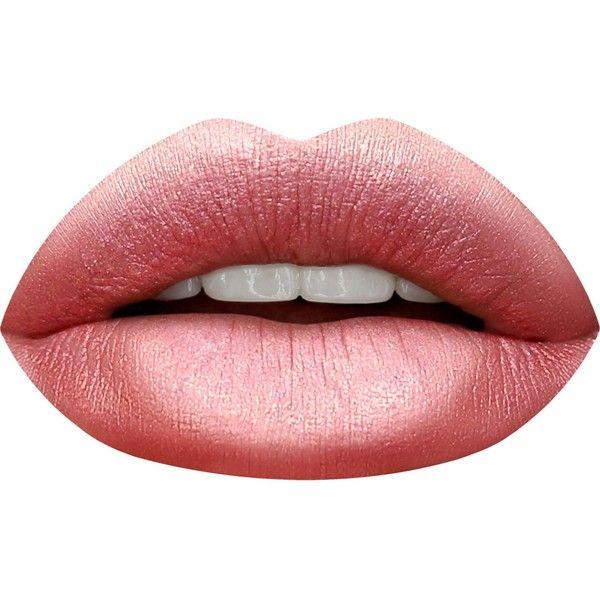HUDA BEAUTY Huda Beauty Special Effects Liquid Matte Lipstick (114325 PYG) ❤ liked on Polyvore featuring beauty products, makeup, lip makeup, lipstick and moisturizing lipstick