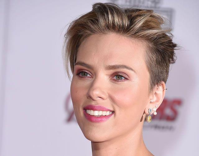 I capelli con undercut di Scarlett Johansson