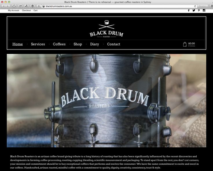 Black Drum Roasters is an artisan coffee brand. Design-Kink designed their eCommerce shop (shop still in testing phase). http://blackdrumroasters.com.au