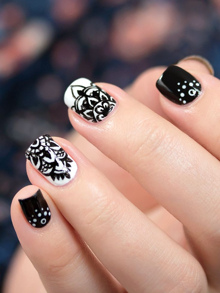 http://mademoiselle-emma.fr/ // Inspiration manucure #nail #nails #nailart