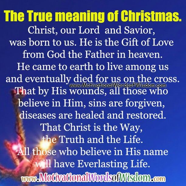 The True Meaning Of Christmas ✟♥ ✞ ♥✟ Can Make Beautiful Card Or A Big  Poster Using This