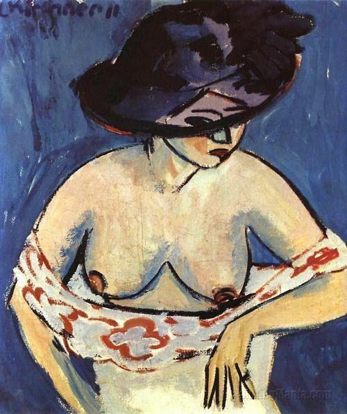 KIRCHNER Ernst Ludwig Kirchner (1880-1938) -