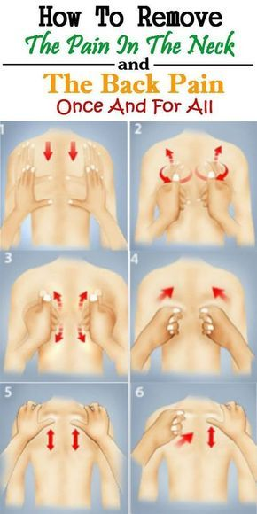 How To Remove The Pain In The Neck And The Back Pain Once And For All