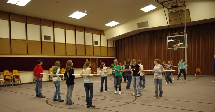 Wednesday, February 17, 2010 For the YW &YM combined activity this month we played Human Foosball in the gym.  You play the game with PVC pi...