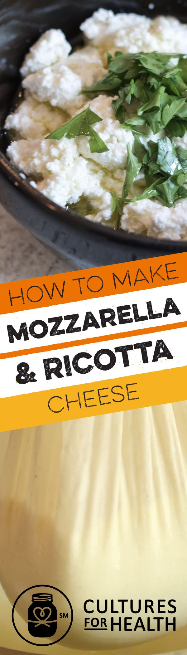 Make authentic Italian cuisine with this Mozzarella and Ricotta Cheese Kit, perfect for beginning cheese makers and even kids. Start a new hobby or create quick, easy cheeses – homemade Mozzarella takes just 30 minutes. This kit contains all you need to make up to 12 lbs. of -Mozzarella, as much as 48 lbs. of Ricotta, or a tasty combination of both - just add milk.