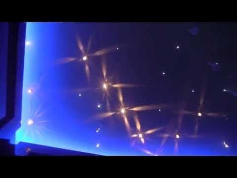 Zestaw Kryształowy Pył gwiazdki na suficie oświetlenie