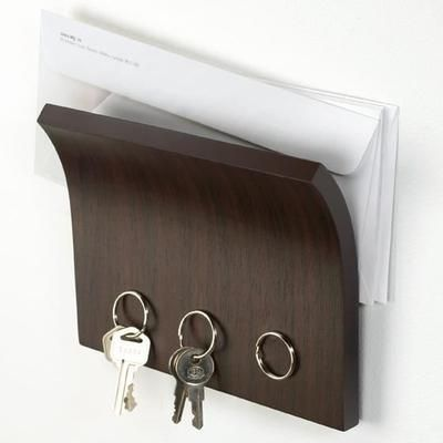 Porte Clés Magnétique Mural et Porte Courrier - Achat / Vente armoire - boite a clé Bois - Soldes* dès le 10 janvier Cdiscount
