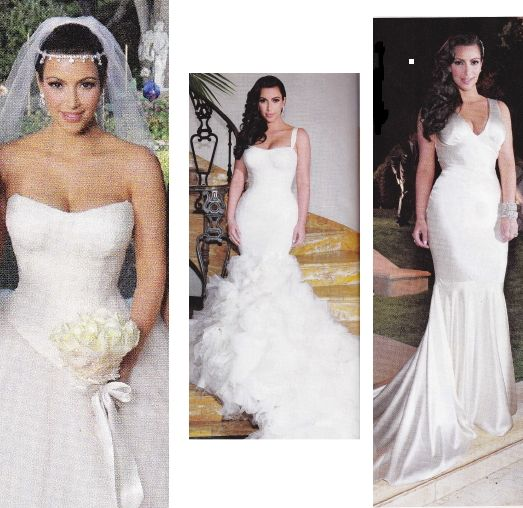 107 best Celebrity Wedding Dresses images on Pinterest