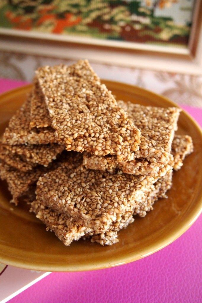 Groen zonder poen: suikervrije sesamkoekjes | De Groene Meisjes | Bloglovin'