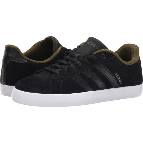 adidas Derby St (Black/Black/Green) Men's Shoes ($50) ❤ liked on Polyvore featuring men's fashion, men's shoes, black, adidas mens shoes, mens black shoes, mens black derby shoes, mens derby shoes and mens shoes