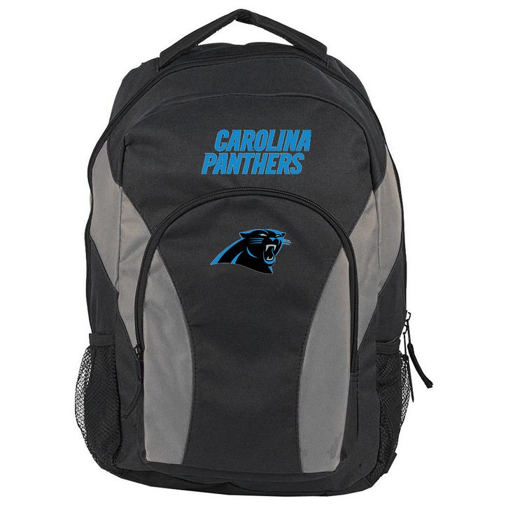 Carolina Panthers NFL Draft Day Backpack (Black)