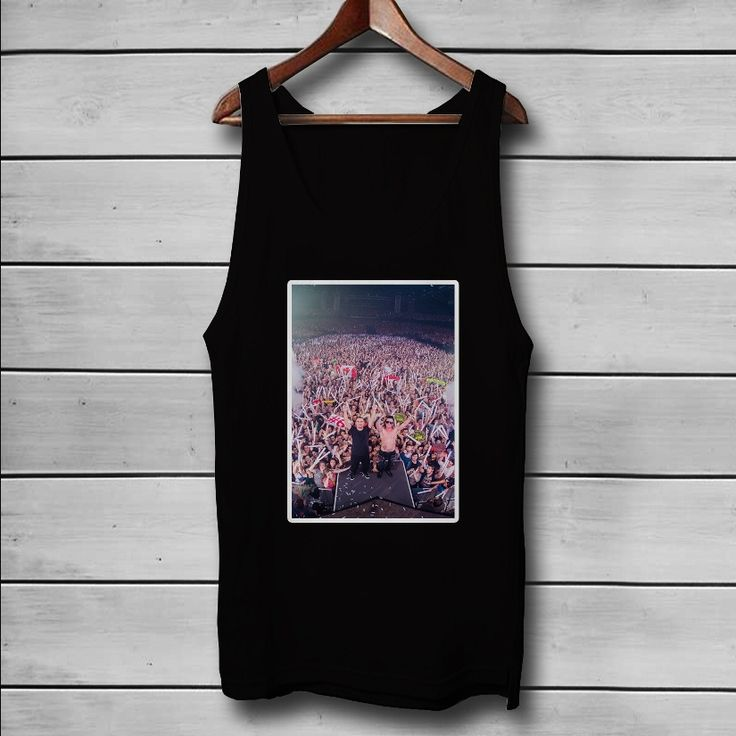 Dimitri Vegas and Like Mike Custom Tank Top T-Shirt Men and Woman