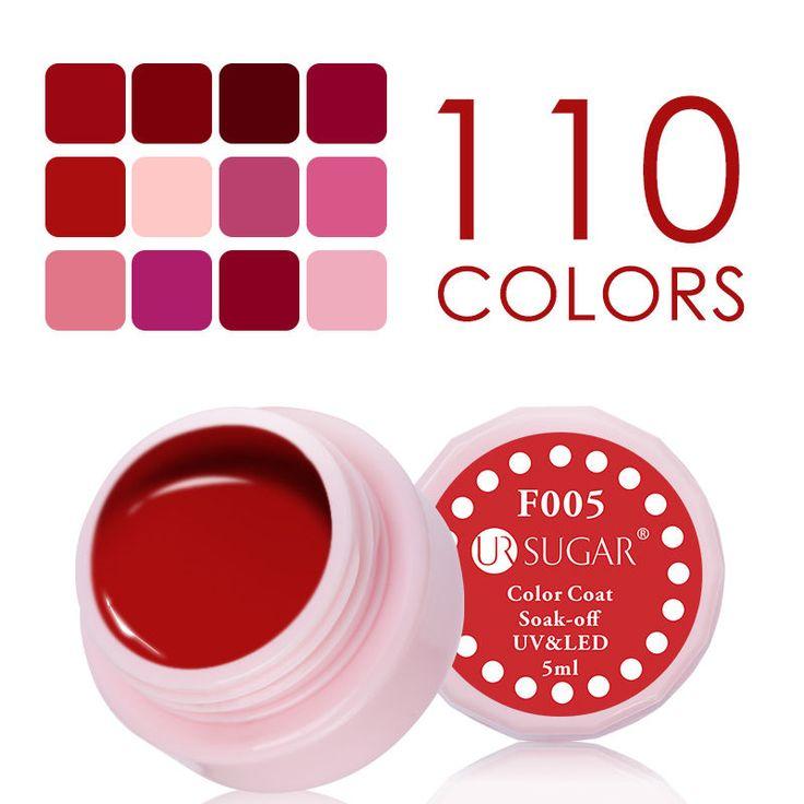 5ml Soak Off Nail Art Esmalte Gel UV Manicura de abrigo de color rojo F001-012 Barniz   Belleza y salud, Cuidado de uñas, Uñas de gel   eBay!