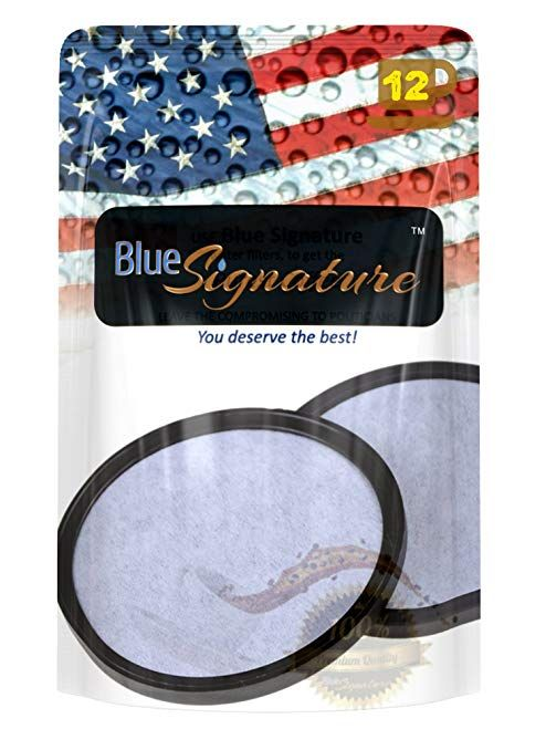 Blue Signature 12 Mr Coffee Filter Discs Compatible Carbon For Water Replacement Review