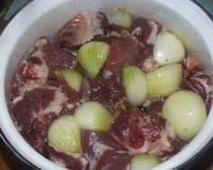 Рецепт маринада для шашлыка, рассказанный мне старым армянином. Через 40 минут…