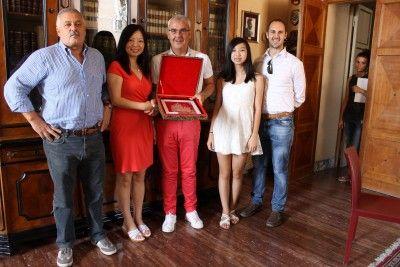 Collaborazione tra Macerata e la città cinese di Taicang: ricevuta in Municipio la presidente della viaSoccer